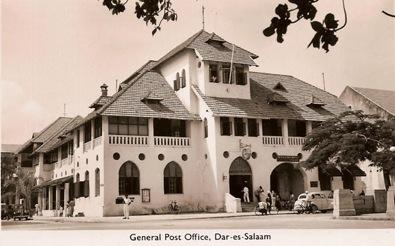 General Post office Dar es Salaam