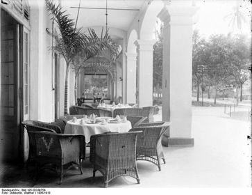 German East Afr - Hotel Kaiserhof - 1906 - Dobbertin